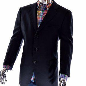 Designer Ermenegildo Zegna Wool Sport Coat 46R